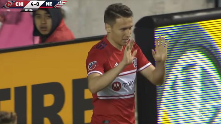 MLS: Debiutancki gol Frankowskiego dla Chicago Fire. Polak pomógł rozgromić rywala (WIDEO)