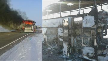Pożar autobusu w Kazachstanie. Zginęło 52 Uzbeków