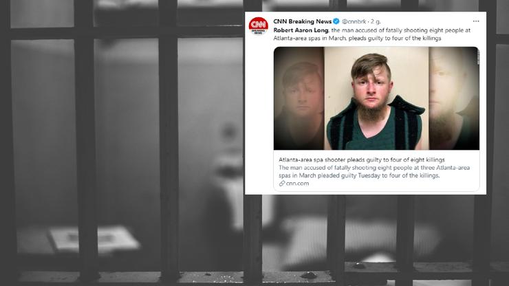 USA. Zabił osiem osób w salonach masażu. Jest wyrok