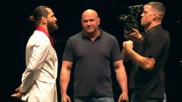 UFC 244: Pierwsze face to face Diaza i Masvidala (WIDEO)