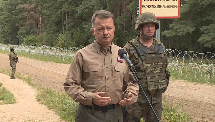Mariusz Błaszczak: nie pozwolimy na stworzenie szlaku przerzutu migrantów przez Polskę