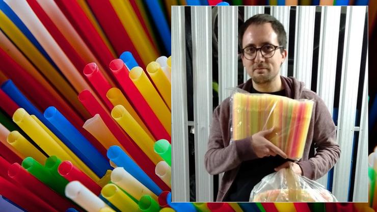 """Polityk Konfederacji kupuje w sieci plastikowe słomki i torebki. Mówi o """"histerii ekologizmu"""""""