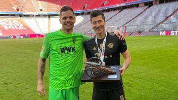 """Gikiewicz pogratulował Lewandowskiemu rekordu. """"Jesteś legendą"""""""