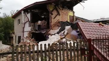 Wybuch gazu w Łódzkiem. Zawaliła się część budynku