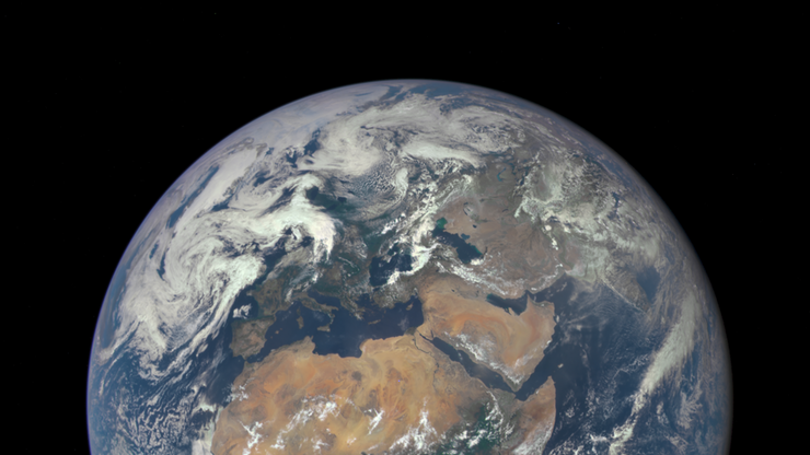 Ziemia powstała w wyniku zderzenia dwóch planet