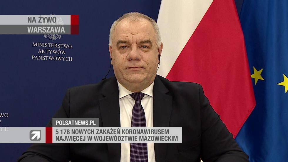 Gość Wydarzeń - Jacek Sasin
