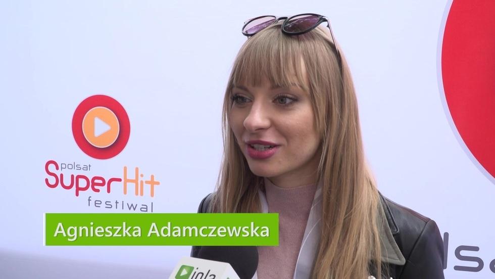 Agnieszka Adamczewska: Dzisiaj relaks, jutro występ