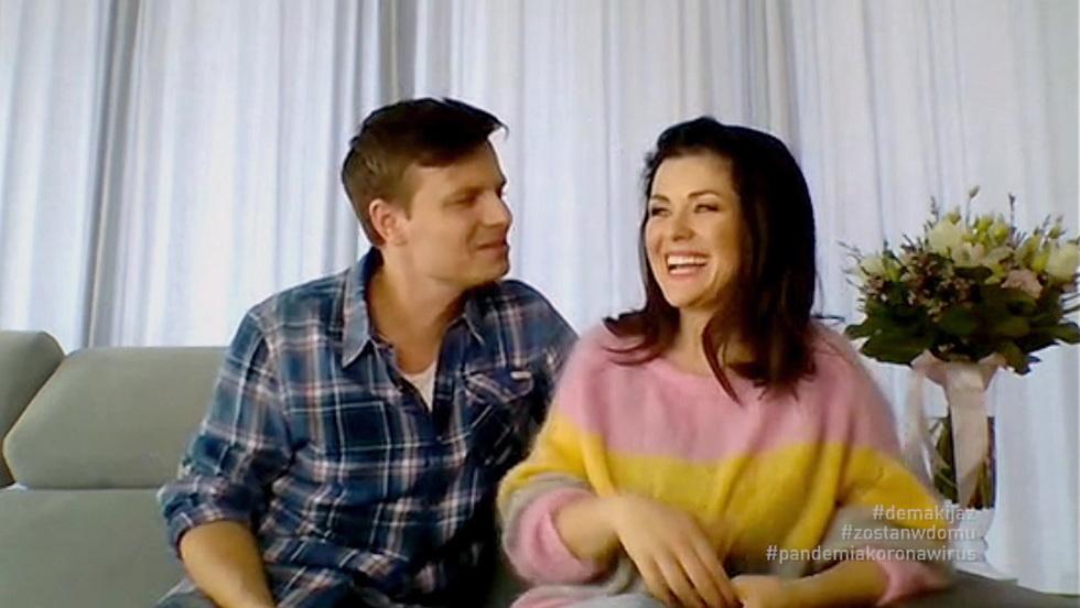 Demakijaż - Katarzyna Cichopek i Marcin Hakiel