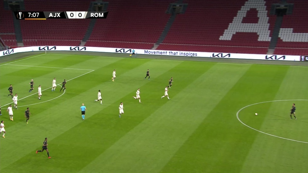 Ajax Amsterdam - AS Roma