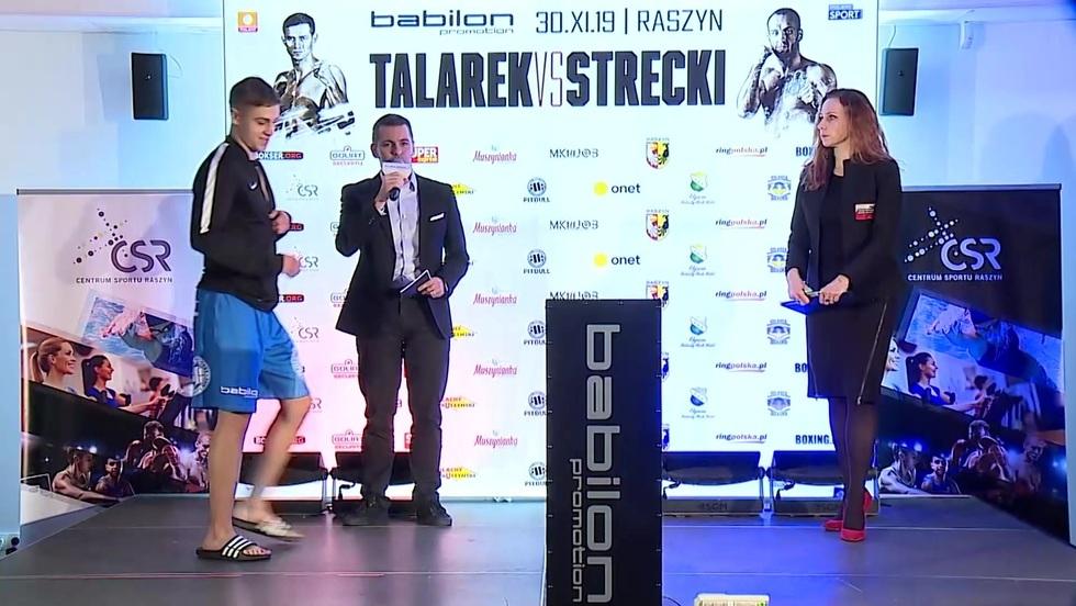 Gala boksu w Raszynie - ceremonia ważenia